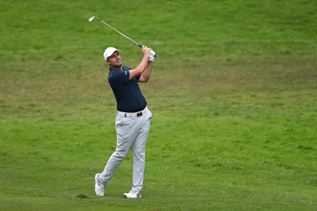 Golf - European Tour - BMW PGA Championship - Wentworth Club, Virginia Water, Britain - May 25, 2018 England's Richard Bland during the second round Action Images via Reuters/Peter Cziborra