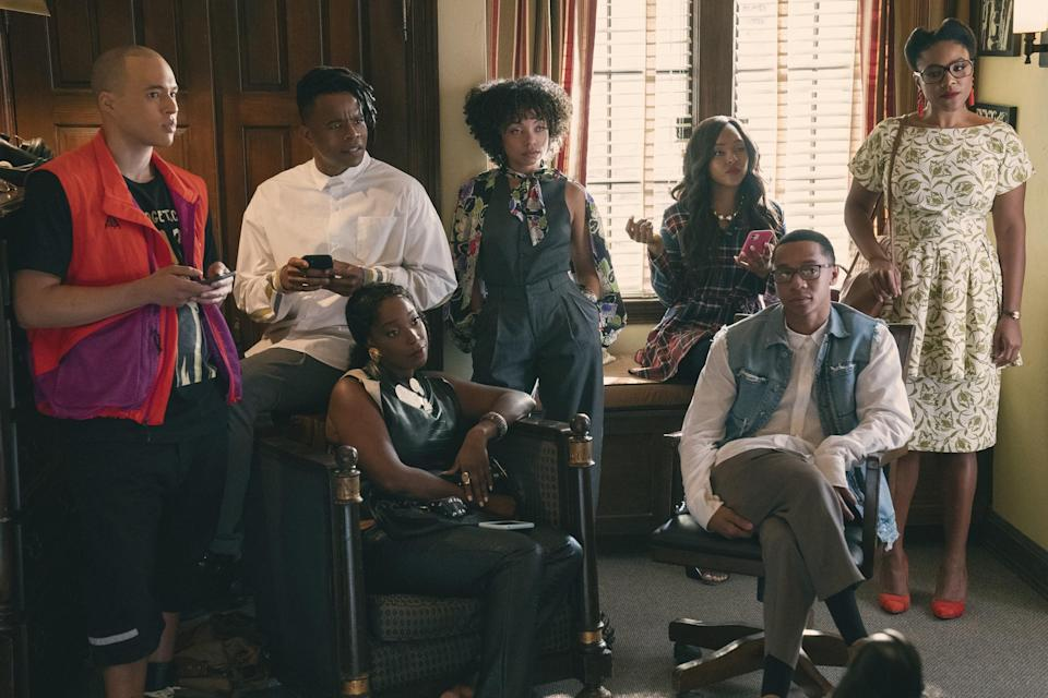 Dear White Peopleofficially ends this fall when Season 4 drops. Set against the backdrop of senior year at Winchester, Dear White PeopleVol. 4 follows all of our favorite characters as they look back at some of the most influential years of their lives. This season is an Afro-futuristic and '90s-inspired musical event, as Samantha, Troy, Lionel, Reggie, and the rest of these friends prepare to say goodbye.When it returns:Sept. 22 on NetflixWatch the new season trailer here