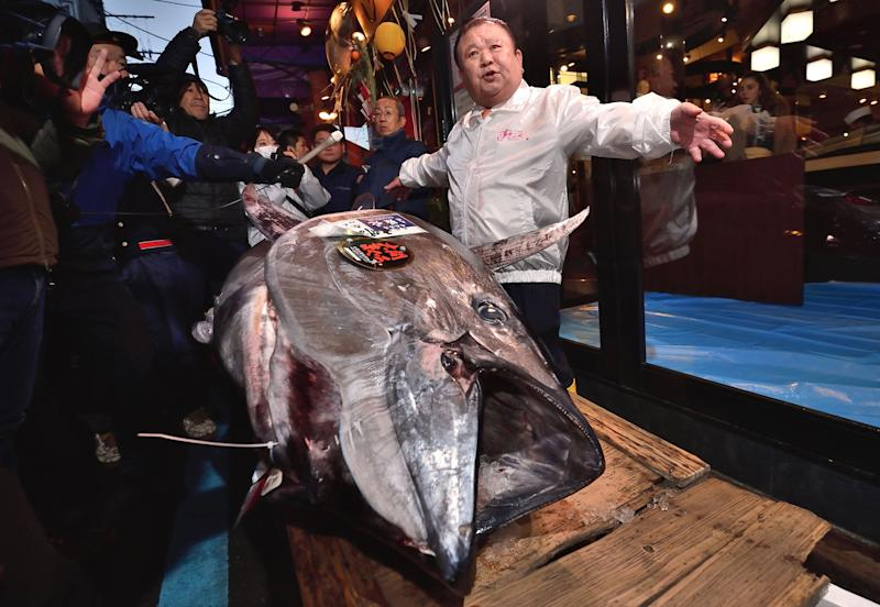 Japanese Sushi Mogul Spends Almost $2 Million on a Single Bluefin Tuna: 'This Is the Best'
