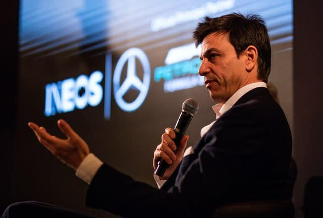 Wolff dismissed suggestions he is looking to leave Mercedes but admitted he was looking at the best role for him to play (Steven Paston/PA)