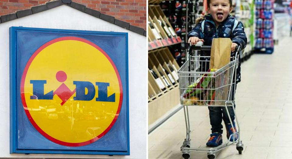 Lidl is introducing 'fun size' trolleys for children [Photo: Lidl/Getty]