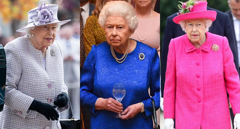 Rainha Elizabeth II pode usar entre cinco e sete looks no Natal (Foto: Getty Images)