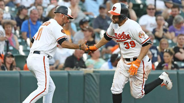 The Orioles started off on fire against the Yankees, until the bullpen blew the lead.