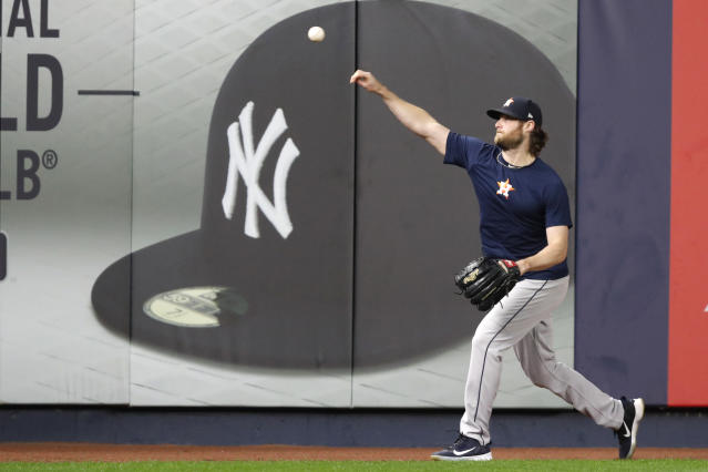 "Is it inevitable that Gerrit Cole will end up with the <a class=""link rapid-noclick-resp"" href=""/mlb/teams/ny-yankees/"" data-ylk=""slk:New York Yankees"">New York Yankees</a>? (AP Photo/Kathy Willens)"