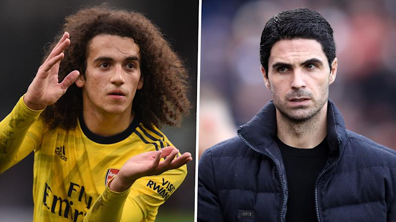 Arteta alludes to 'internal issues' at Arsenal after Guendouzi benched for Southampton clash