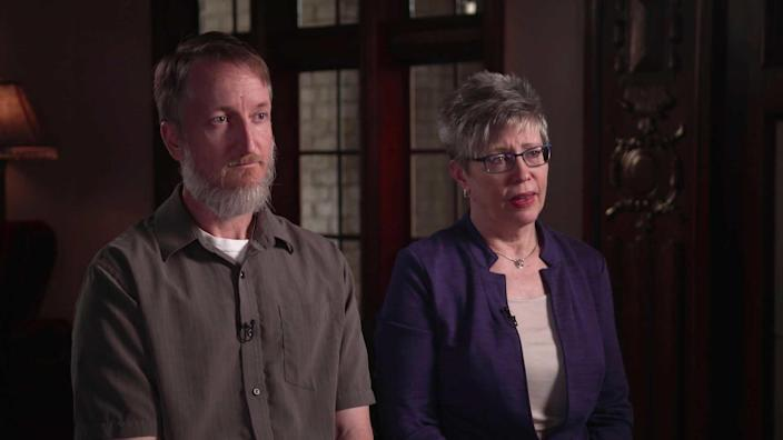Lawrence Baitland and Alison Steele believe their daughter was beaten to death. / Credit: CBS News