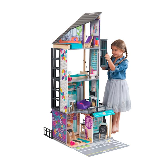 KidKraft Bianca City Life Dollhouse with EZ Kraft Assembly(TM) (Walmart / Walmart)
