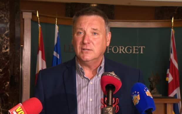 PC Leader David Brazil says constituents whose futures rely on the Come By Chance refinery need answers on a new deal announced last month. (Mark Quinn/CBC - image credit)