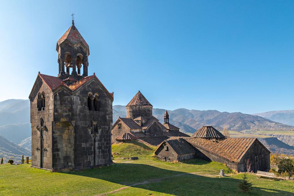 Vaccinated travelers can visit Armenia without taking a test or quarantining.