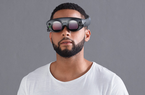 Magic Leap shows its first augmented-reality headset to the world