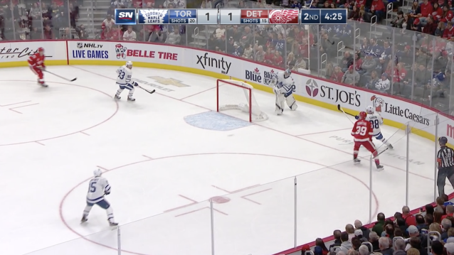 An absolute pizza. (Courtesy Sportsnet)