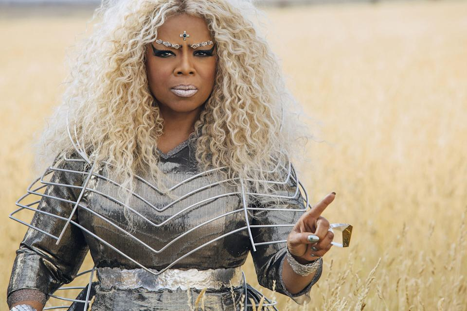 Oprah Winfrey looms large as Mrs. Which in <em>A Wrinkle in Time.</em> (Photo: Atsushi Nishijima/Walt Disney Studios Motion Pictures/Courtesy Everett Collection)