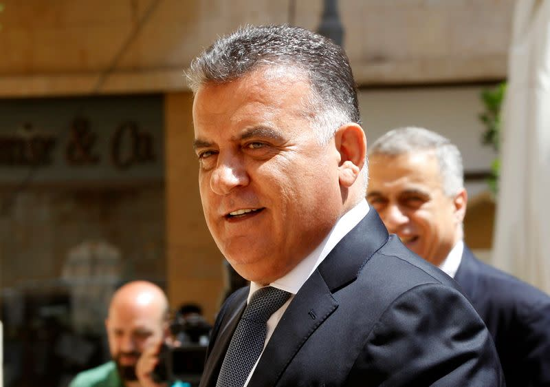 Major General Abbas Ibrahim, head of Lebanon's General Security agency is seen in Beirut