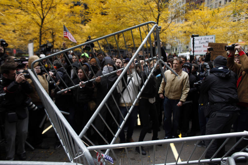 Occupy Wall Street Holds Major Day Of Action In New York City