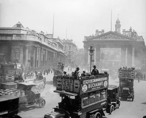A reminder that London's traffic problem is nothing new - Credit: Getty