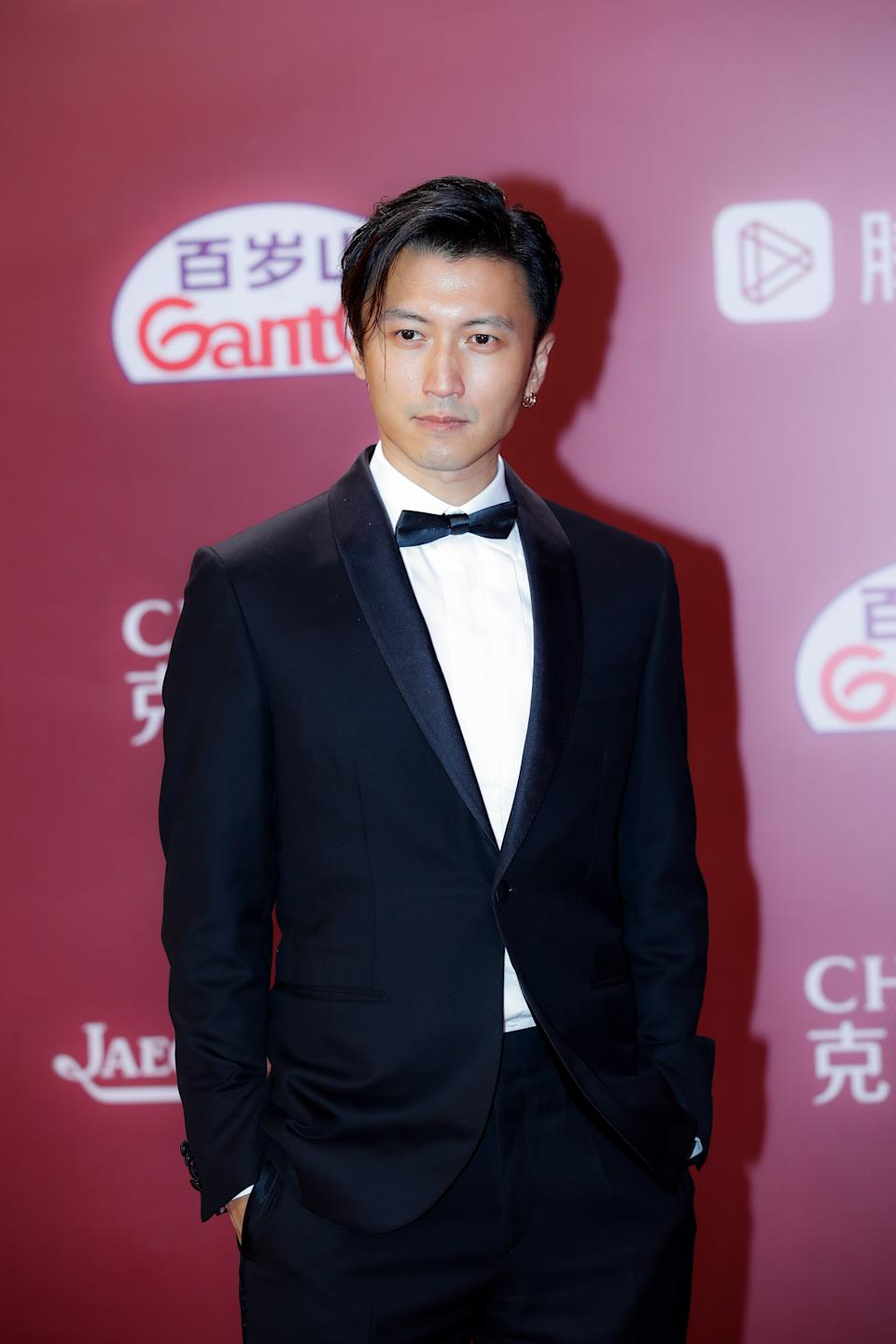 SHANGHAI, CHINA - JUNE 11: Actor Nicholas Tse Ting-fung attends opening ceremony of the 24th Shanghai International Film Festival at Shanghai Grand Theatre on June 11, 2021 in Shanghai, China. (Photo by VCG/VCG via Getty Images)