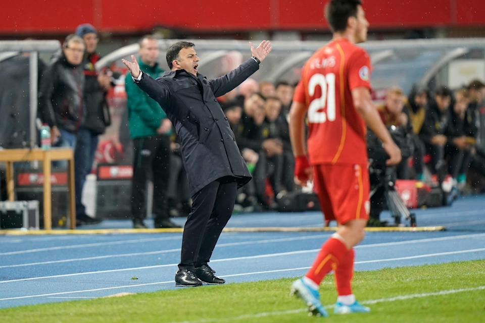 Igor Angelovski has led North Macedonia to their first major tournament (Getty Images)