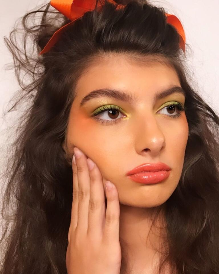 """A softer, '80s-inspired take on the trend by <a href=""""https://www.instagram.com/hkassel/"""">Kayley Hassel</a>. Courtesy of Instagram."""