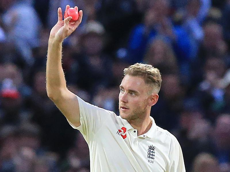 Stuart Broad has no intention of hanging up his spikes just yet: AFP