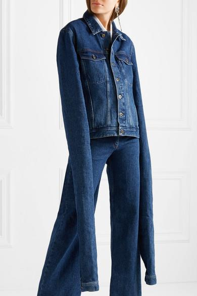 """<p>The latest in impractical fashion comes courtesy of Y/Project. A repeat offender in the world of weird denim, the brand has just launched a denim jacket with the longest sleeves known to man. You can <a rel=""""nofollow noopener"""" href=""""https://www.net-a-porter.com/gb/en/product/942021/Y_PROJECT/oversized-denim-jacket"""" target=""""_blank"""" data-ylk=""""slk:snap it up right now"""" class=""""link rapid-noclick-resp"""">snap it up right now</a> for a measly £450.<br><i>[Photo: Net-a-Porter]</i> </p>"""