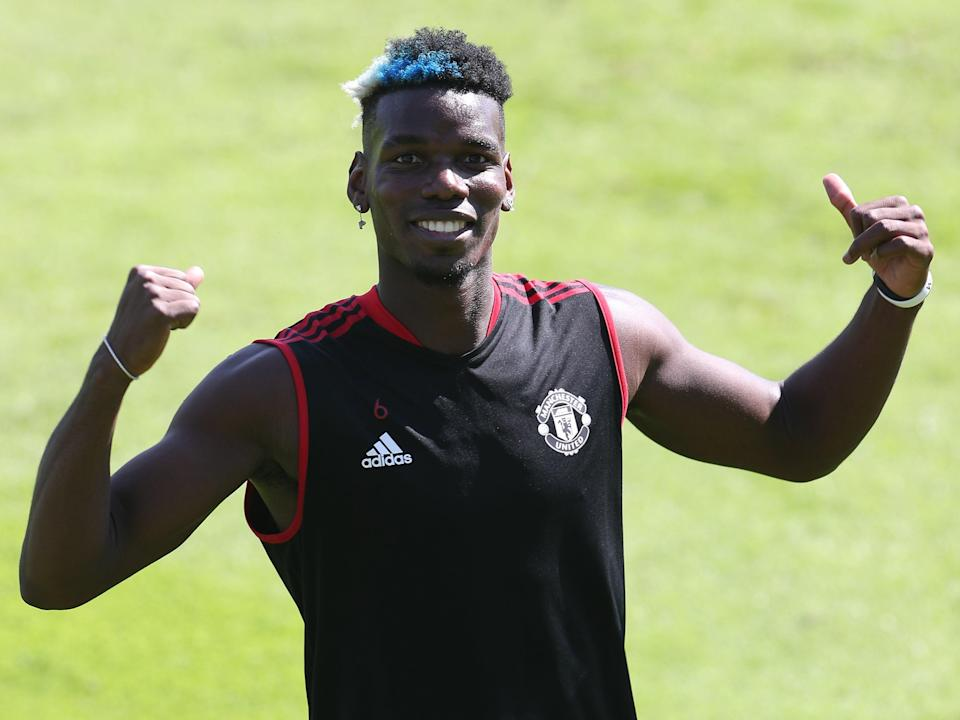 Manchester United midfielder Paul Pogba (Manchester United via Getty Images)