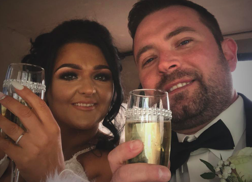 Josh Willis paid tribute to his wife, Samantha, who died after contracting COVID-19 just days after giving birth. (Facebook)