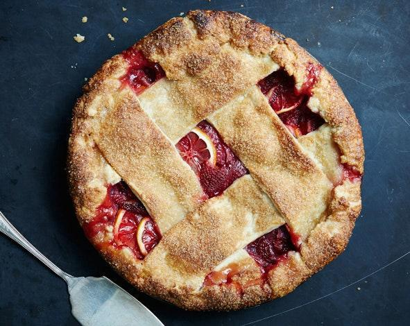Big fat strips of dough make for a rustic and modern-looking pie (and they're easy to weave into a lattice). If you're in love with a thinner style, or love using a fluted cutter, we won't stop you.