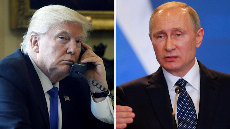 Trump Discusses Middle East, North Korea on Phone Call With Putin