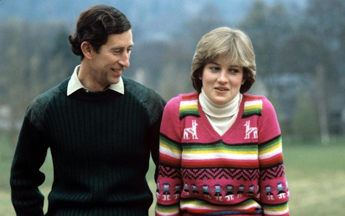 Charles and Diana in 1981 – many younger viewers confuse The Crown's Diana (played by Emma Corrin) with the real one - Photonews Scotland/Shutterstock