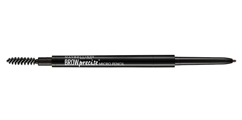"Zdunowski-Roeder's go-to drugstore brow pencil is the <a href=""https://www.cvs.com/shop/maybelline-brow-precise-micro-pencil-prodid-1090398"" target=""_blank"">Maybelline EyeStudio Micro eyebrow pencil</a>.&nbsp;<strong><br /></strong><br />&ldquo;[It's] fabulous because it is thin enough to make the tiniest of lines, which looks so natural on the brow,"" she said. ""It&rsquo;s foolproof with the spoolie on the end to help with blending.&rdquo;<br /><br /><strong><a href=""https://www.target.com/p/maybelline-174-eye-studio-174-brow-precise-153-micro-260-deep-brown/-/A-50554581"" target=""_blank"">Maybelline EyeStudio Micro Eyebrow Pencil</a>, $6.99 at Target</strong>"