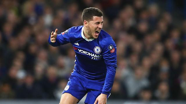 Eden Hazard is confident he can land the biggest individual prize in football playing for Premier League champions-elect Chelsea.