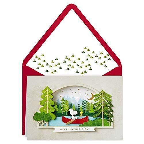"""<p><strong>Hallmark</strong></p><p><strong>$7.99</strong></p><p><a href=""""https://www.hallmark.com/cards/greeting-cards/peanuts-snoopy-and-woodstock-in-canoe-3d-fathers-day-card-799IMM7019.html"""" rel=""""nofollow noopener"""" target=""""_blank"""" data-ylk=""""slk:Shop Now"""" class=""""link rapid-noclick-resp"""">Shop Now</a></p><p>The loyalty between Snoopy and Woodstock in the <em>Peanuts</em> comics is unmatched — kind of like you and your dad, no?</p>"""