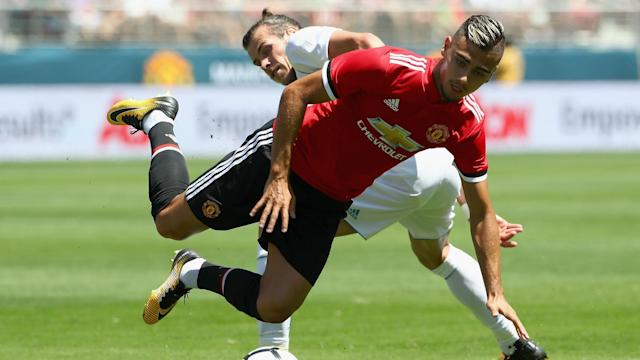 Jose Mourinho was unhappy to see Andreas Pereira join Valencia on loan, but the midfielder insists it was the right decision.