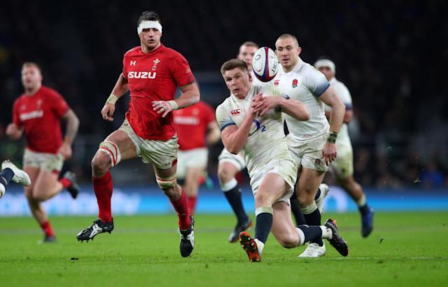 Rugby Union - Six Nations Championship - England vs Wales - Twickenham Stadium, London, Britain - February 10, 2018 England's Owen Farrell in action REUTERS/Hannah Mckay TPX IMAGES OF THE DAY