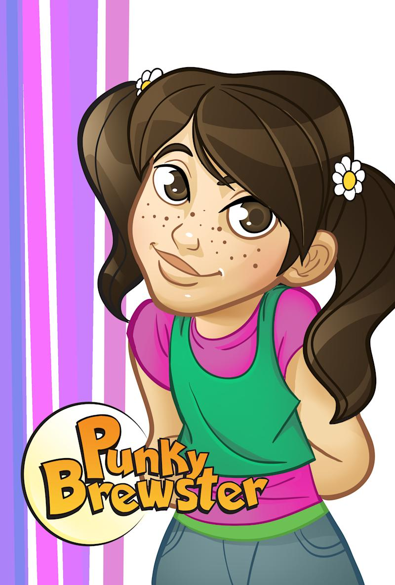 "This comic book image released by Lion Forge Comics shows an animated version of Punky Brewster from the popular TV series of the same name. NBCUniversal is partnering with Lion Forge Comics to develop licensed comic books based on popular TV shows from the 1980s and 90s. In addition to ""Punky Brewster,"" Lion Forge will will write, develop and publish digital comics based on ""Airwolf,"" ""Knight Rider,"" ""Miami Vice,"" and ""Saved By The Bell."" (AP Photo/Lion Forge Comics)"