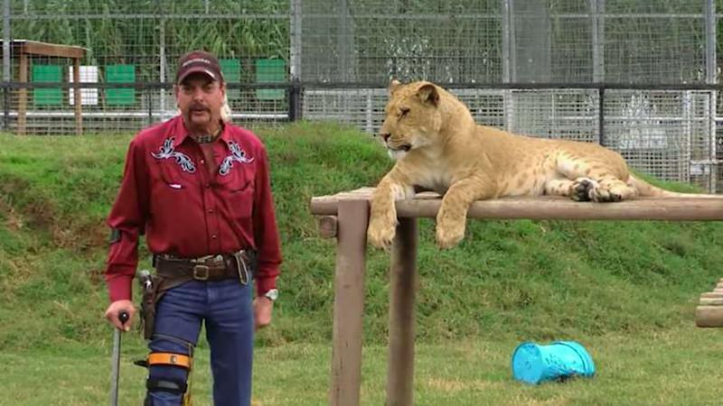 Tiger King Joe Exotic has contracted coronavirus whilst in prison