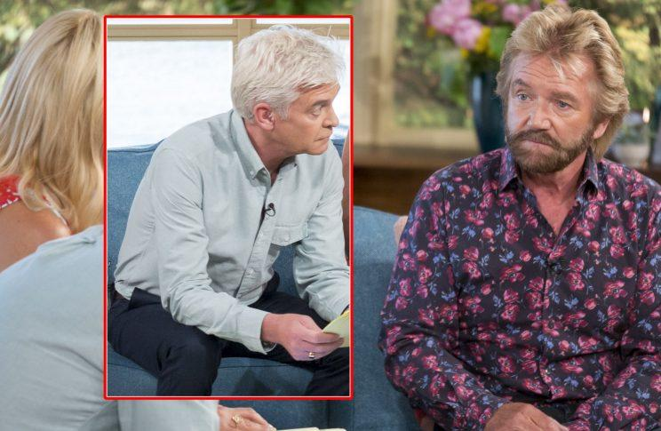 Noel Edmonds on This Morning (REX/Shuttershock/ITV)