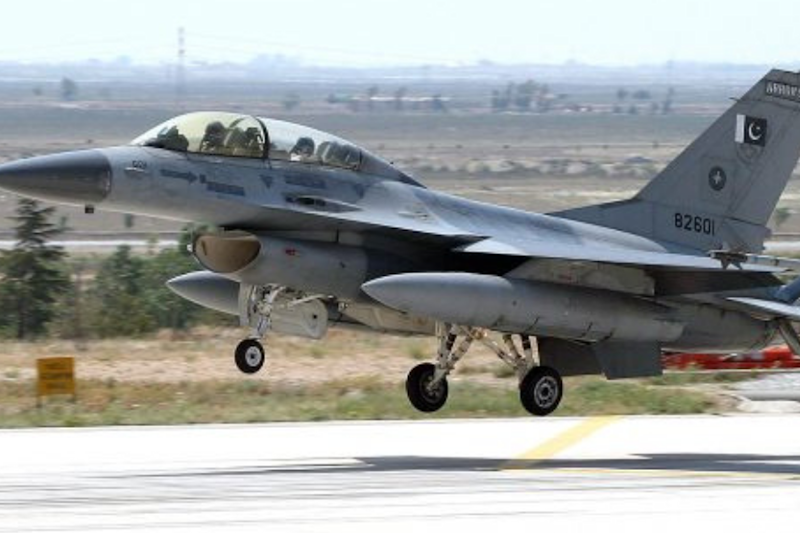 File photo of Pakistani F-16 fighter jet (Image : AFP).