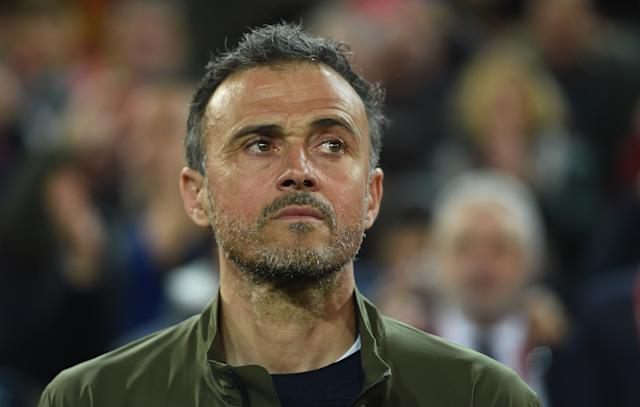 Luis Enrique, Manager of Spain (Credit: Getty Images)