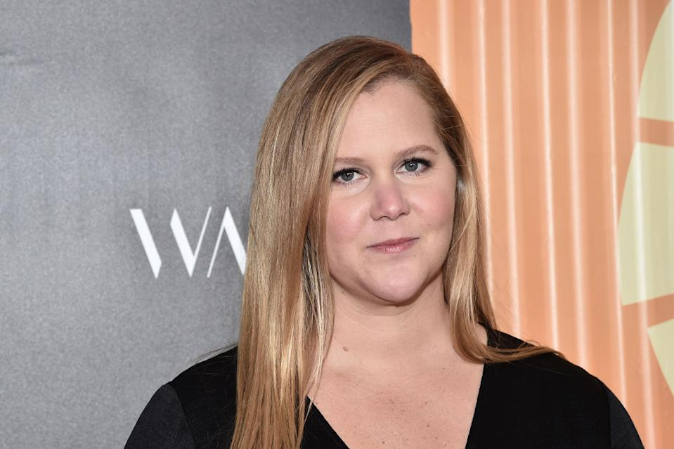 Amy Schumer has given a health update following surgery to treat endometriosis, pictured in November 2019. (Getty Images)