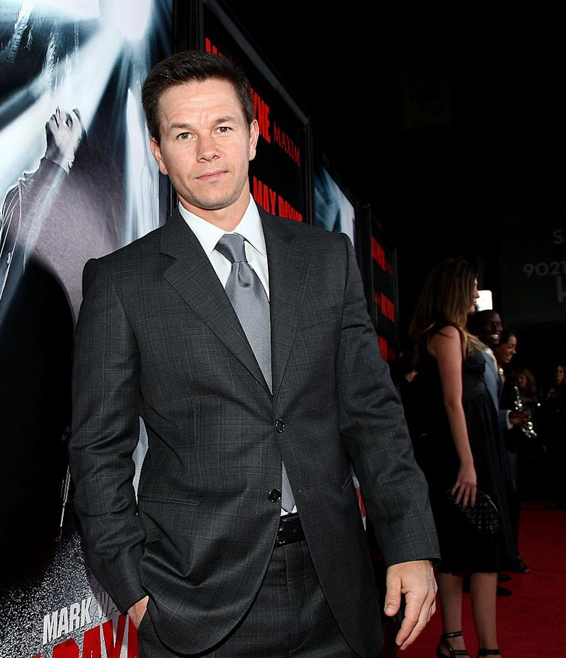 """<a href=""""http://movies.yahoo.com/movie/contributor/1800019716"""">Mark Wahlberg</a> at the Los Angeles premiere of <a href=""""http://movies.yahoo.com/movie/1810007086/info"""">Max Payne</a> - 10/13/2008"""