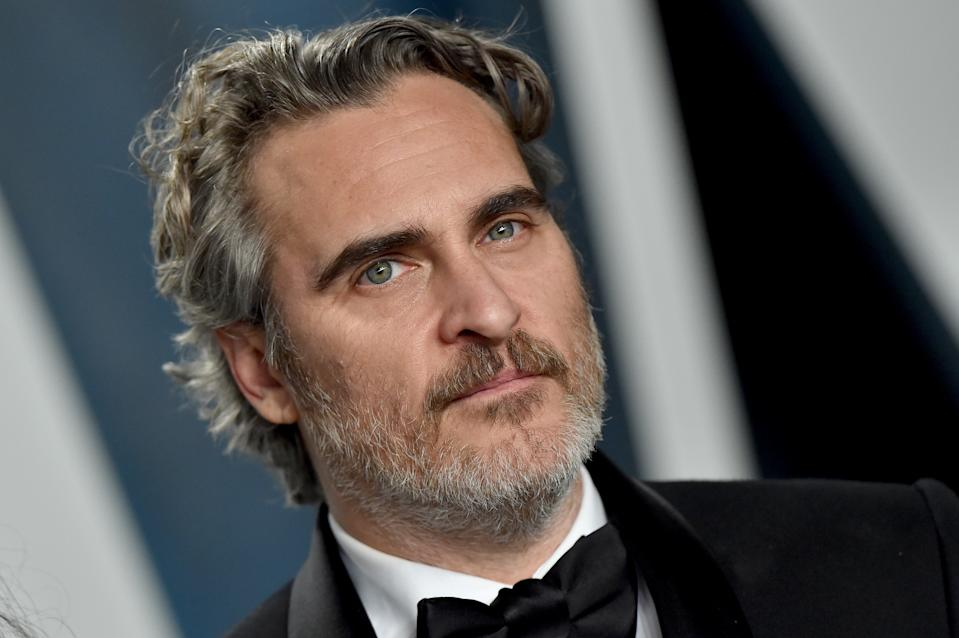 BEVERLY HILLS, CALIFORNIA - FEBRUARY 09: Joaquin Phoenix attends the 2020 Vanity Fair Oscar Party hosted by Radhika Jones at Wallis Annenberg Center for the Performing Arts on February 09, 2020 in Beverly Hills, California. (Photo by Axelle/Bauer-Griffin/FilmMagic)