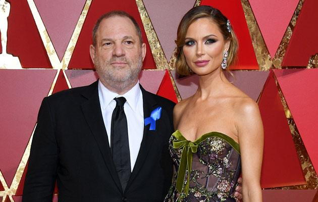 Harvey Weinstein's ex-wife breaks her silence — Georgina Chapman