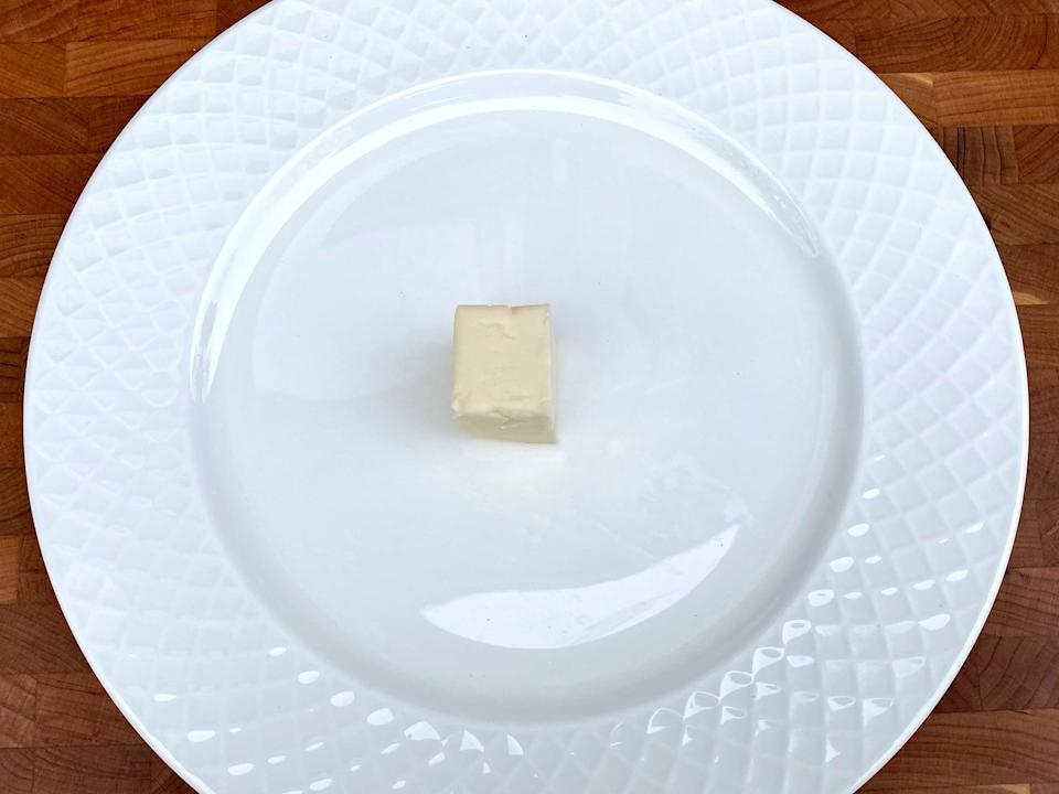 <p>2 tablespoons of butter</p>
