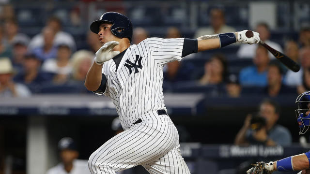 Gary Sanchez will now be suspended three games by MLB. (AP)