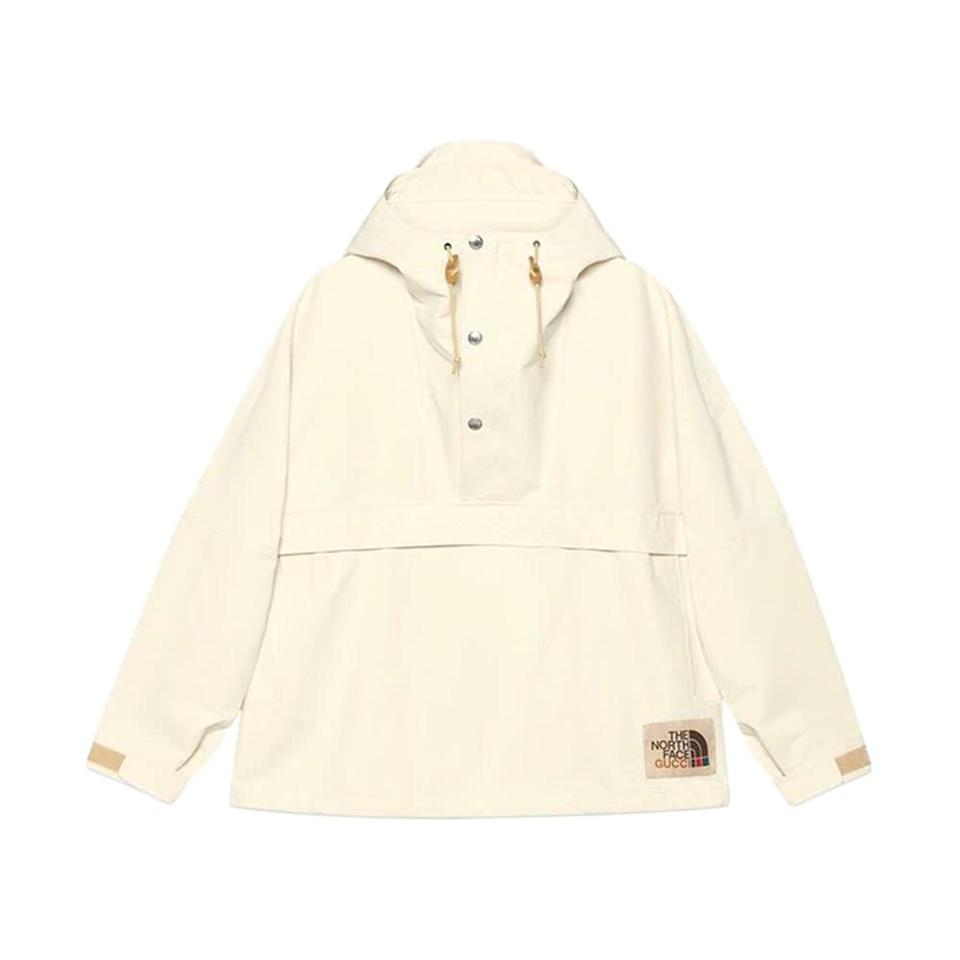 Gucci x The North Face Light Nylon Wind Jacket Beige