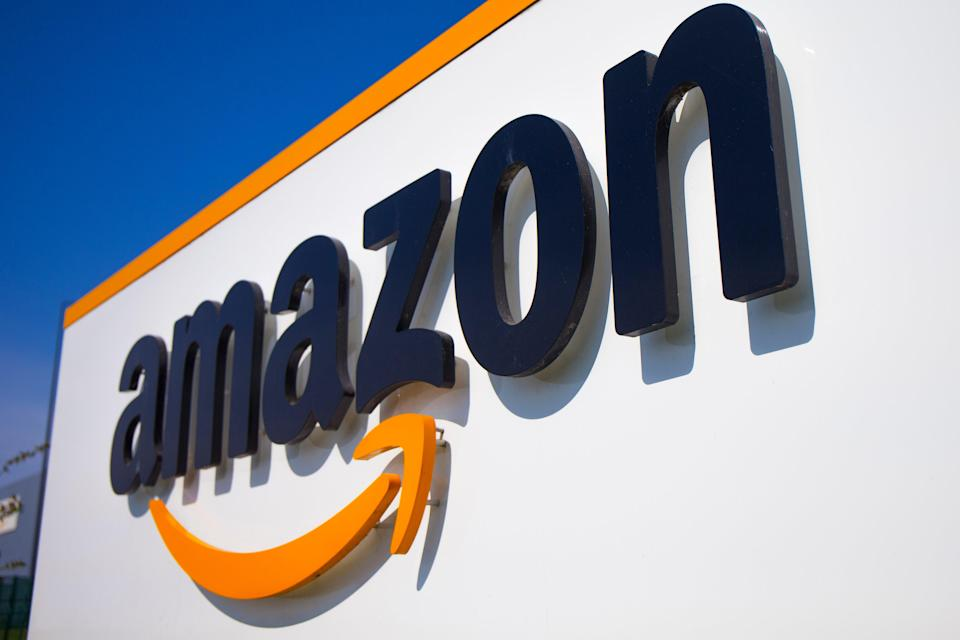 Amazon slid nearly 7.6 per cent on NYSE after reporting its first quarterly revenue miss in three years (AP)