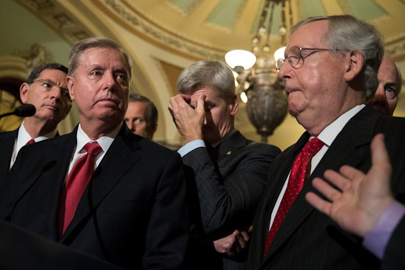 Senate Republicans won't vote on last-ditch bill to dismantle ObamaCare