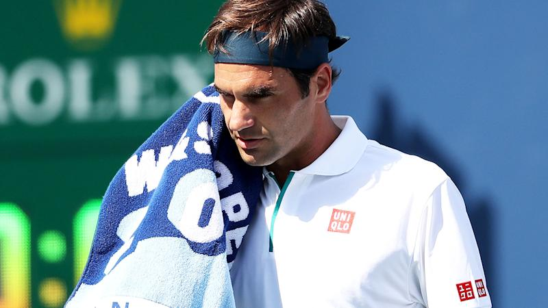 Roger Federer suffered a shock loss at the Cincinnati Masters. (Photo by Rob Carr/Getty Images)