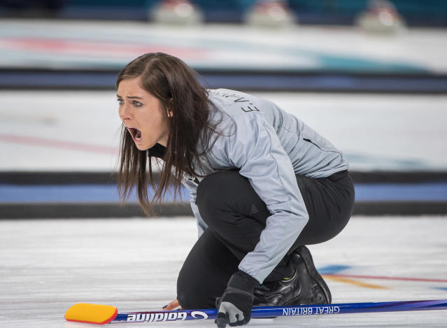 Eve Muirhead was unable to lead her rink to the gold medal match (Andy J Ryan/ Team GB)